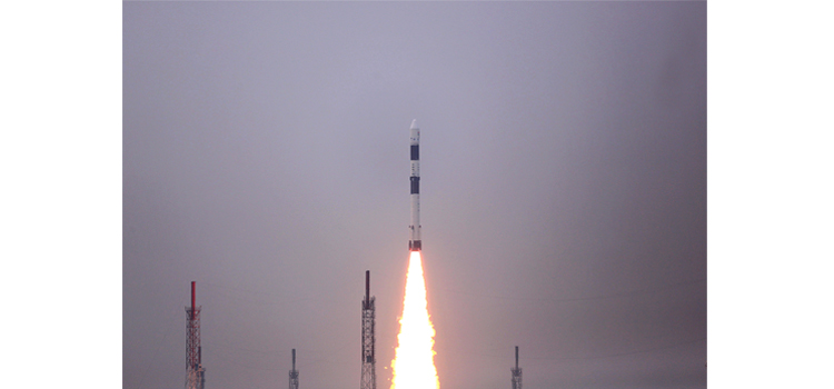 PSLV C43 Lift off