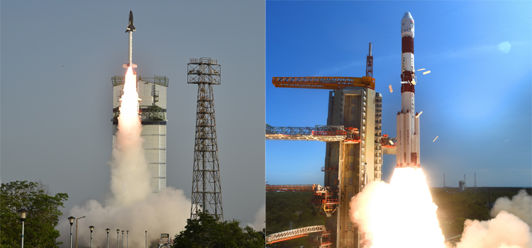 RLV - TD                                                                            PSLV C-34 Launch